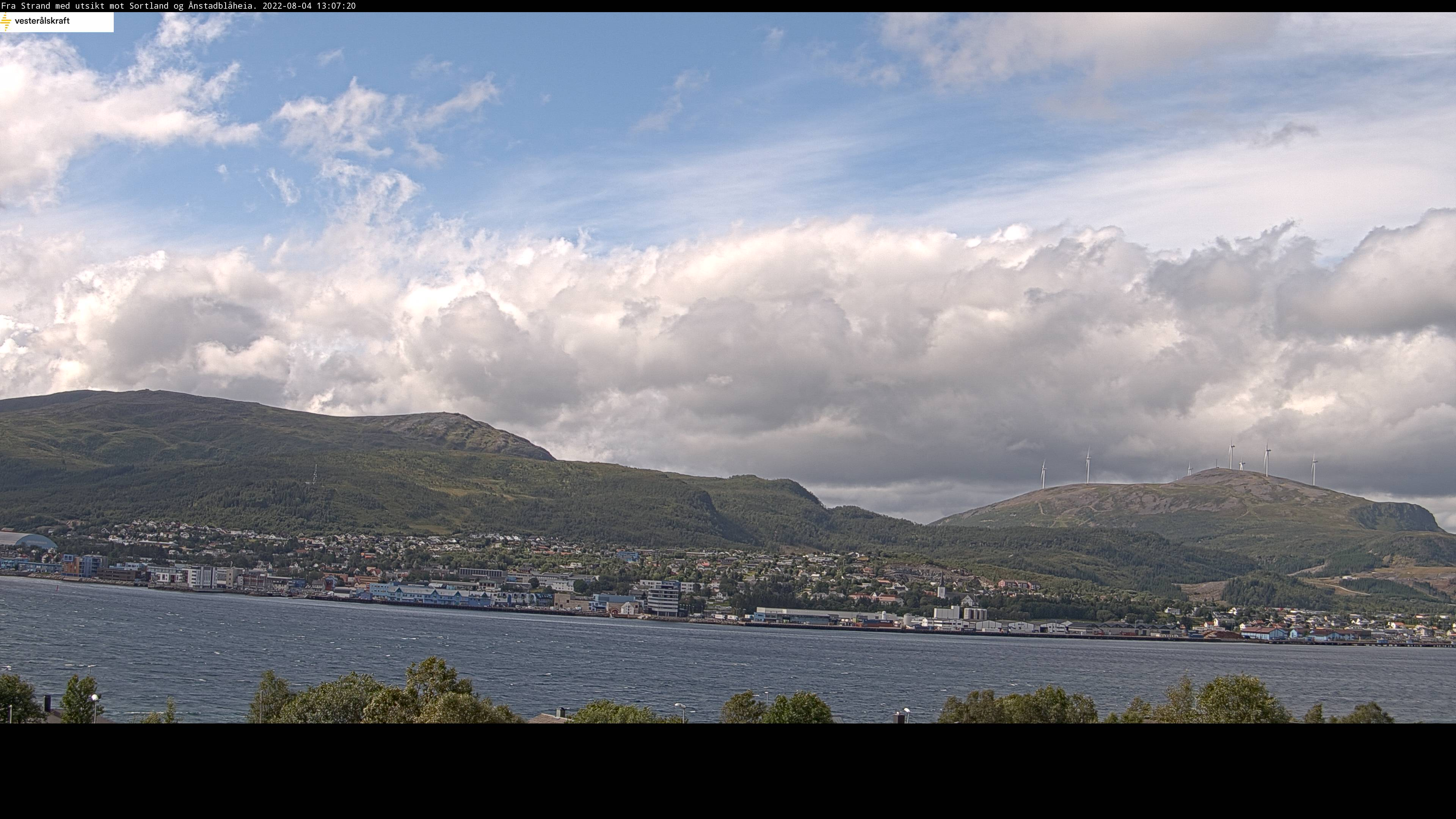 Webcam For The Port Of Sortland